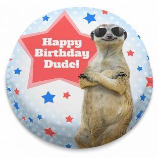 Meerkat Dude Cake