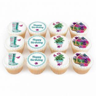12 Gardening Cupcakes