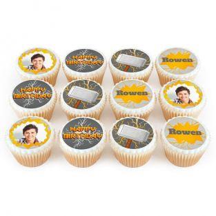 12 Thor Photo Cupcakes