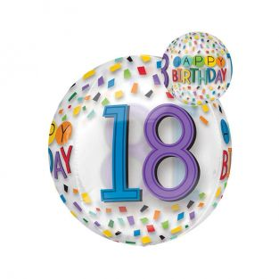 Happy Birthday 18th Balloon