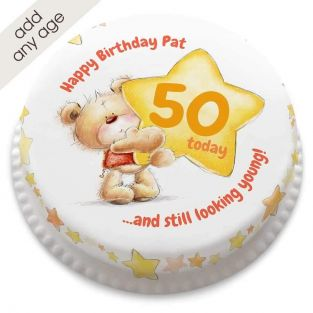 Any Age Ted Star Cake