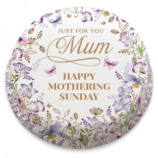 Lilac Mothering Sunday Cake