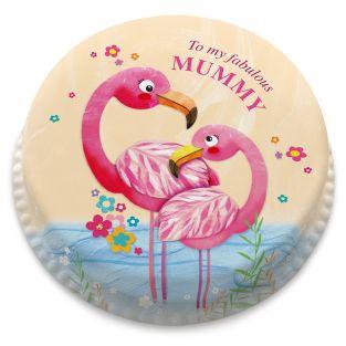 Pink Flamingos Cake
