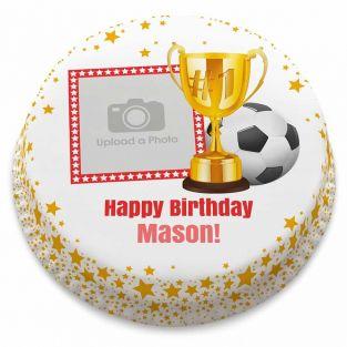 Football Trophy Cake