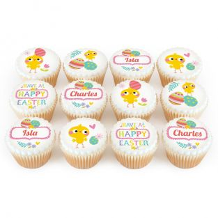 12 Cute Easter Chick Cupcakes