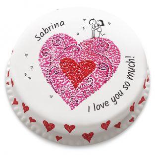 Lovely Couple Cake