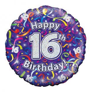 Sparkly 16th Balloon