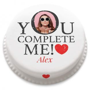 You Complete Me Cake