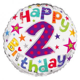 2nd Birthday Balloon