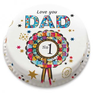 Starry No.1 Dad Cake