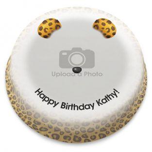 Leopard Filter Photo Cake