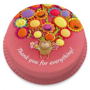 Thank You Bear Cake