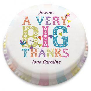 Very Big Thanks Cake