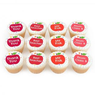 12 Thank You Apple Cupcakes