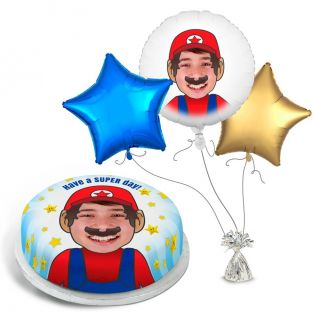 Mario Photo Gift Set
