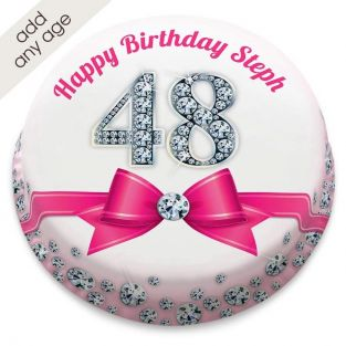 Any Age Diamond Cake