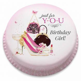 Birthday Girl Treat Cake