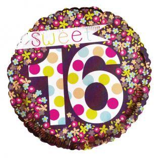 Sweet 16th Flower Balloon