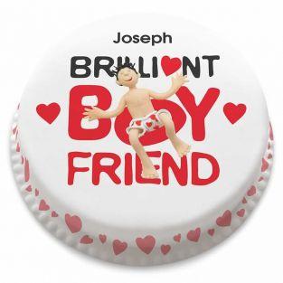 Brilliant Boyfriend Cake
