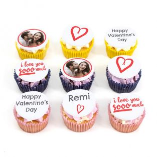 9 Much Love Cupcakes