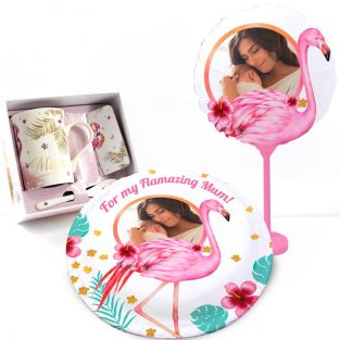 Flamingo Mum Gift Set