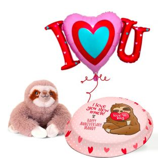 Sloth Anniversary Gift Set