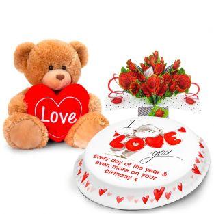 Love You Bear Gift Set