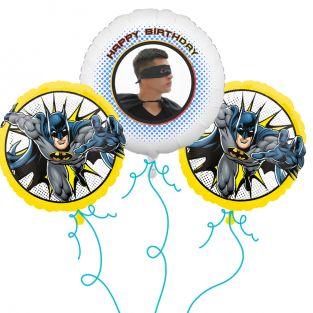 Batman Photo Balloon Bouquet
