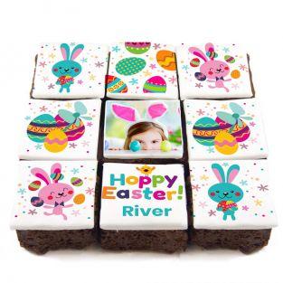Hoppy Easter Brownies