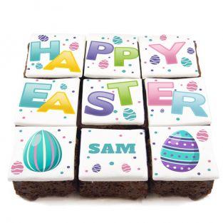 Happy Easter Brownies