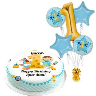 1st Birthday Boy Gift Set