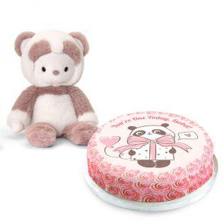 1st Birthday Panda Gift Set