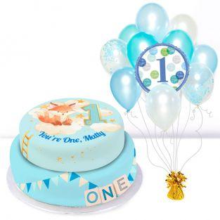 Blue Photo Gift Set