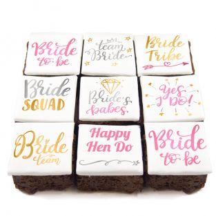 Team Bride Brownies