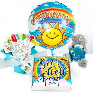 Get Well Soon Brownie Gift Set