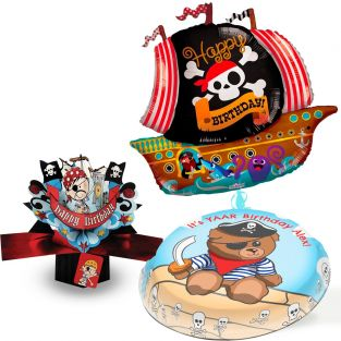 Captain Teddy Gift Set
