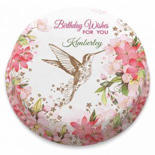 Floral Humming Bird Cake