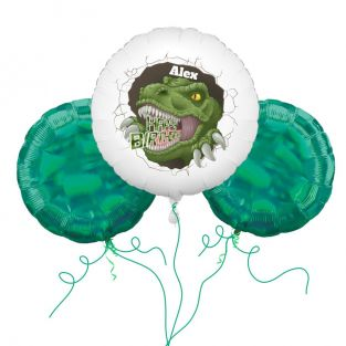 T-Rex Balloon Bouquet