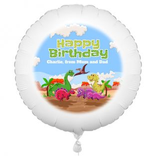 Dinosaur Personalised Balloon