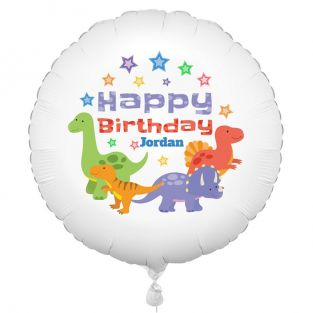 Cute Personalised Dinosaur Balloon