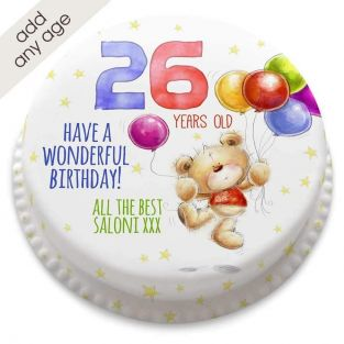 Any Age Ted Birthday Cake