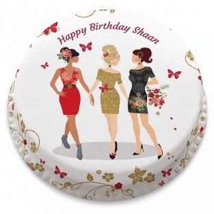 Girlfriends Cake