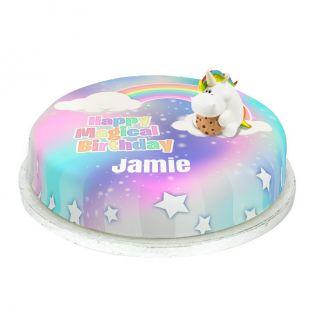 Chubby Unicorn Cake