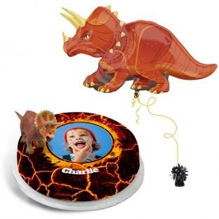 Red Dino gift Set