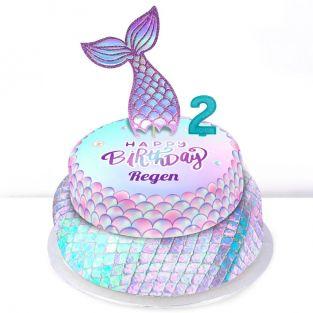 2nd Birthday Mermaid Cake