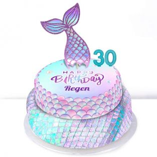 30th Birthday Mermaid Cake