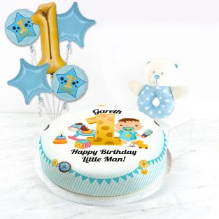 1st Birthday Boy Gift Set