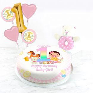 1st Birthday Girl Gift Set