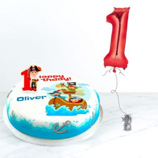 1st Birthday Pirate Gift Set