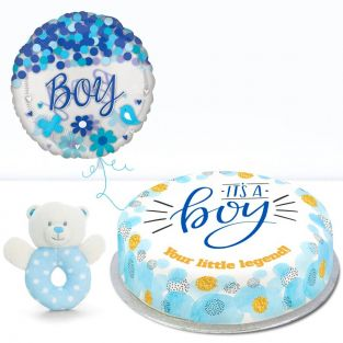 Welcome Baby Boy! Gift Set